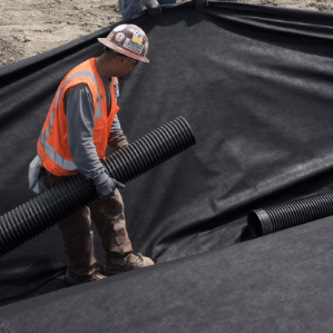 ADS pipe is designed for faster product installation